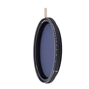 ND-VARIO filter Variable 1.5-5 stops Nano-coating in optical glass