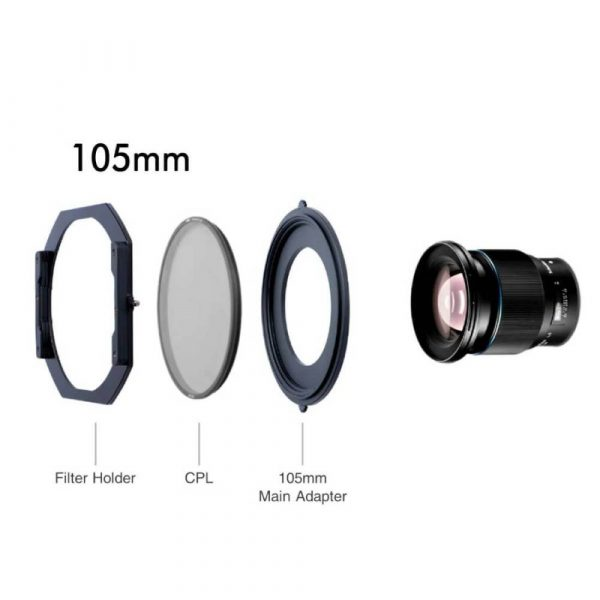 NiSi S5 threaded filters 105mm