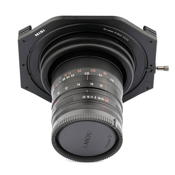 NiSi 100mm Filter holder for Laowa 10-18mm f/4.5-5.6 FE