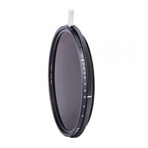 ND-VARIO filter Variable 5-9 stops Nano-coating in optical glass