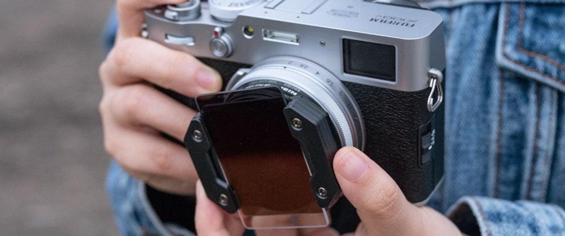 NiSi filter for Fuji X100 Series