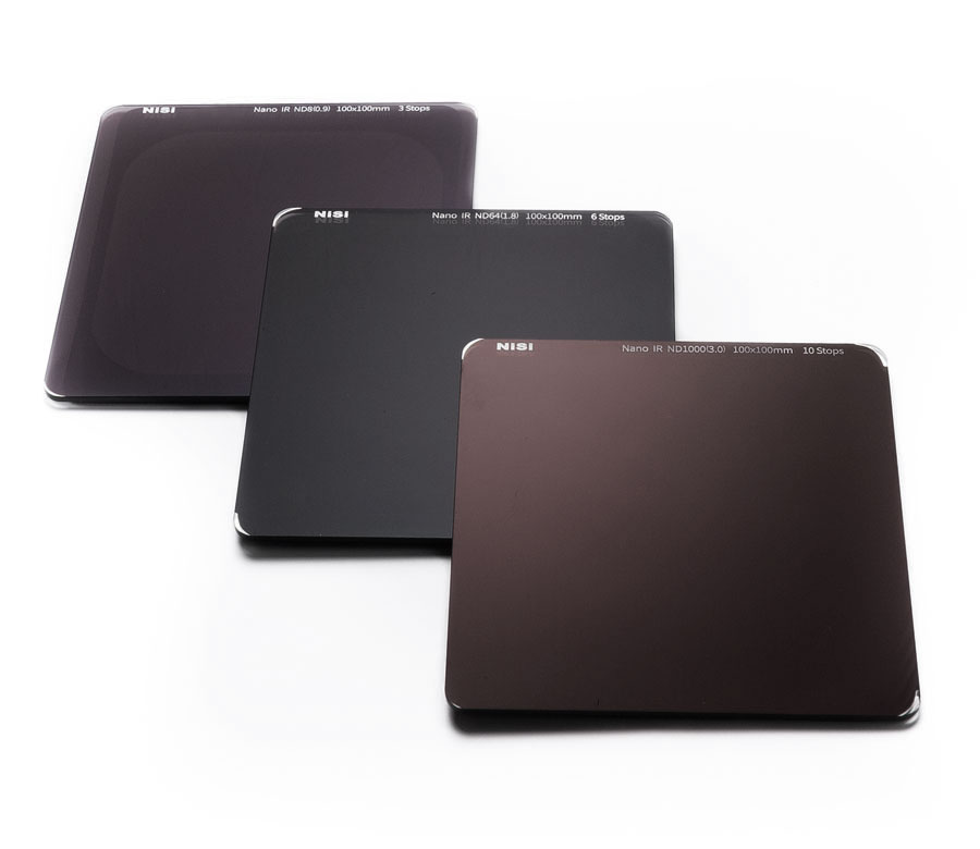 100x100mm ND filters (Neutral Density)