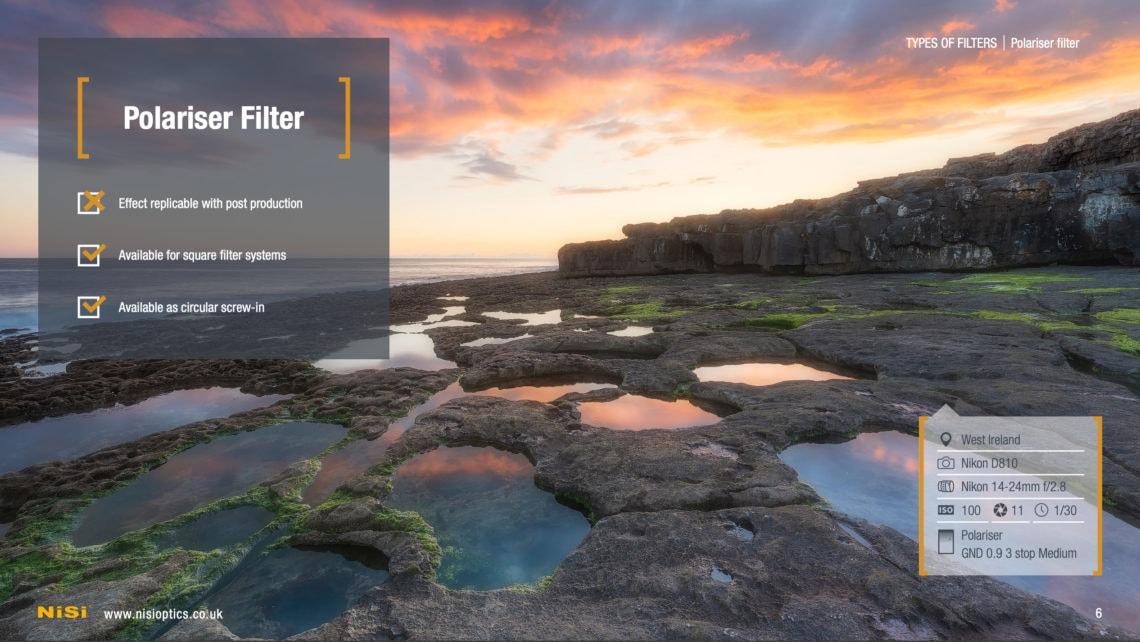 landscape filter guide