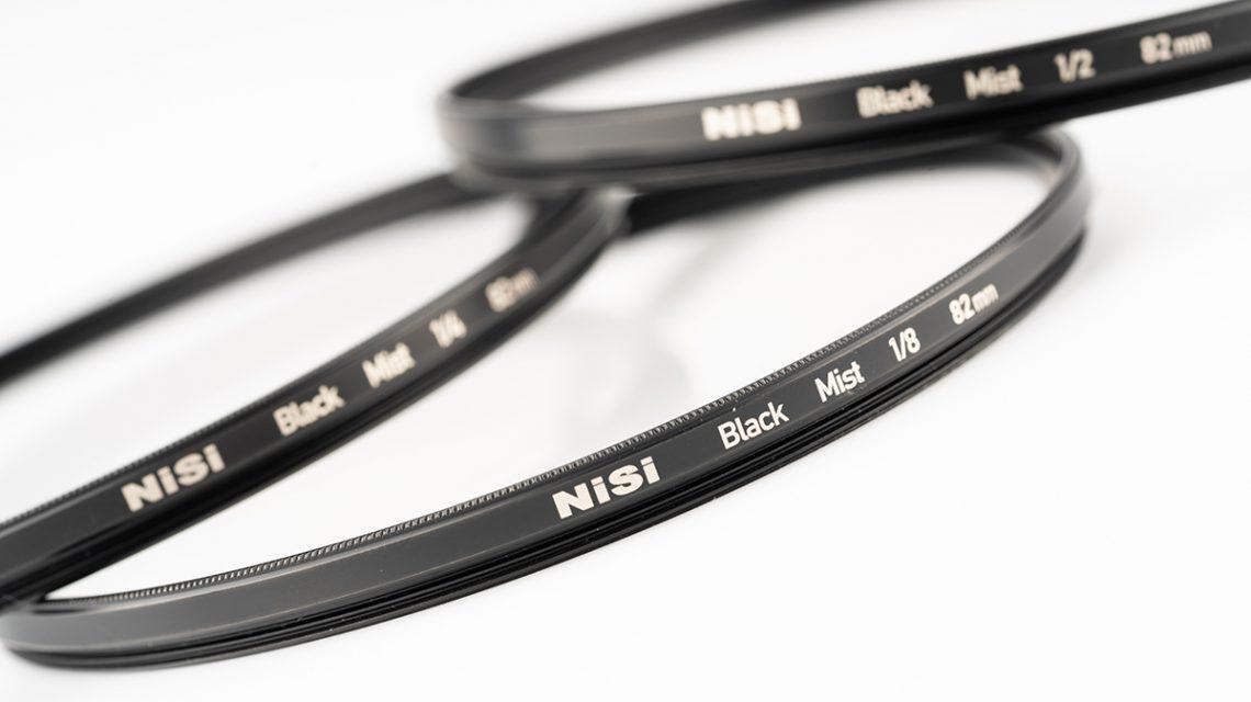 Circular Allure Mist Diffusion Filters Black and White